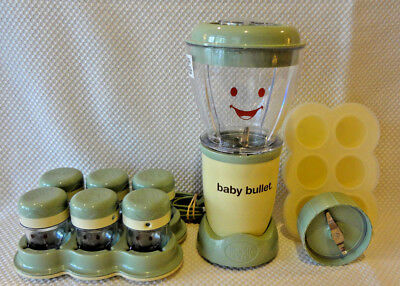 Magic Baby Bullet Natural Homemade Baby Food Maker Blender Machine System