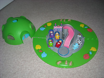 teletubbies home on the hill playset with accessories