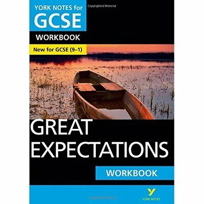 Great Expectations: York Notes for GCSE (9-1) Workbook - Paperback NEW Ms Lyn Lo