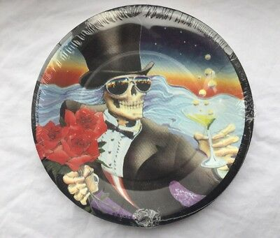 8 Grateful Dead Another Saturday Night Stanley Mouse Paper Plates