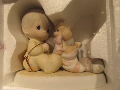 Greatest Gift is a Friend Eneseco Precious Moments 1987  Figure 109231 Box & Tag
