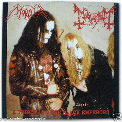 Mayhem / Morbid - a tribute to the black emperors Vinyl LP, NEW and UNPLAYED