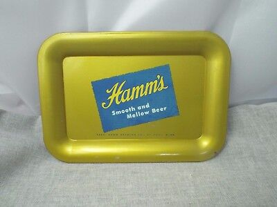 Hamm's Beer Vintage Metal Advertising Tip Tray
