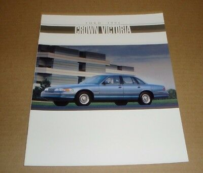 1994 Ford Crown Victoria LX sales brochure dealer car auto literature