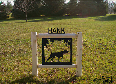 Dog Signs  -Pointers - Pet Memorial Markers