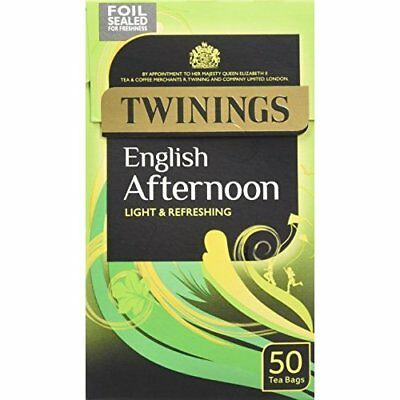 Twinings Traditional Afternoon Tea 50 Teabags (Pack of 4, Total 200 Teabags)
