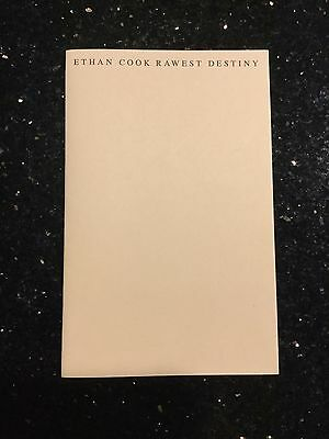 Ethan Cook - Rawest Destiny - Limited Edition Book - Nate Lowman