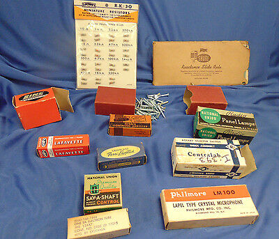75 GE Radio tubes Misc Lot of Vintage NOS Electronic Repair General Electric TV