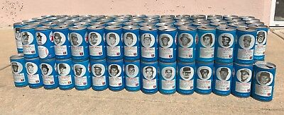 148 Assorted Royal Crown RC Cola MLB Baseball Players Cans Used