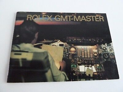 Rolex GMT Master Booklet - USA von 01-1989