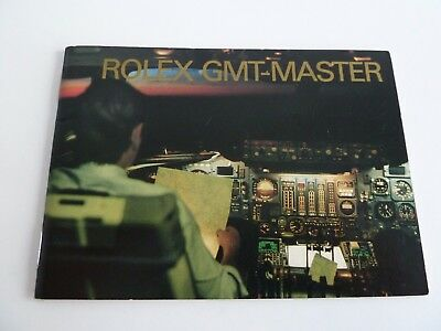 Rolex GMT Master Booklet - deutsch von 10-1992