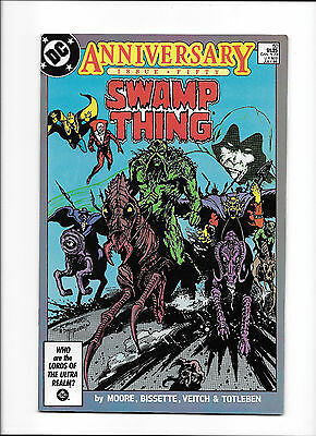 Swamp Thing #50  [1986 Fn-Vf]  1St Justice League Dark!