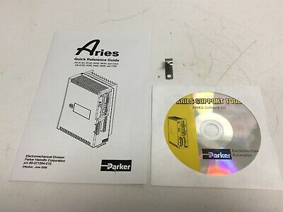 New Parker 88-021594-01E Aries Quick Reference Guide and Support Tool CD