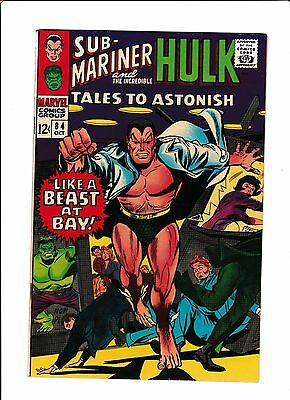 """Tales To Astonish #84  [1966 Nm-]  """"like A Beast At Bay!"""""""