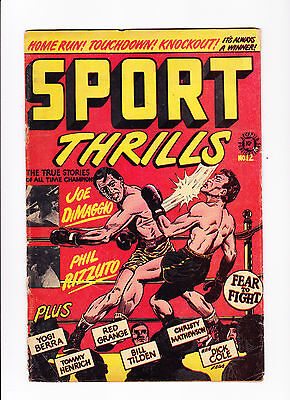 Sport Thrills No.12 :: Boxing Cover! :: :: True Stories Of All Time Champions ::