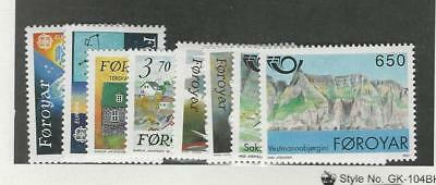 Faroe Islands, Postage Stamp, #220-227 Mint NH, 1991