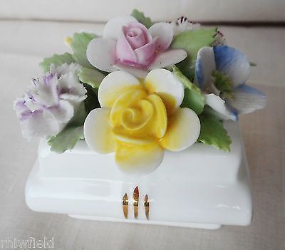Royal Doulton Floral Posy Miniature Book Vase