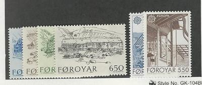 Faroe Islands, Postage Stamp, #152-157 Mint NH, 1987