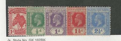 Gilbert & Ellice, Postage Stamp, #9, 27-29, 17 Mint Hinged, 1911-29