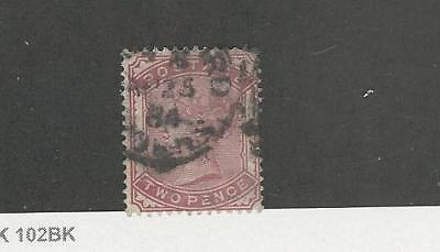 Great Britain, Postage Stamp, #81 Used, 1880
