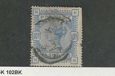 Great Britain, Postage Stamp, #109 Short Perfs Used, 1884
