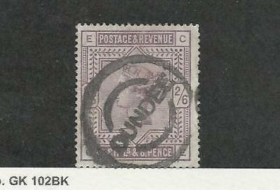 Great Britain, Postage Stamp, #96 Used, 1883 Dundee Cancel