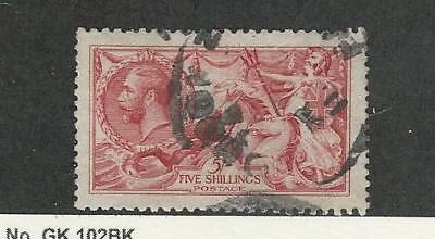 Great Britain, Postage Stamp, #174 VF Used, 1913