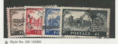 Great Britain, Postage Stamp, #309-312 Used, 1955