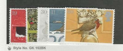 Great Britain, Postage Stamp, #1634-1638 Mint NH, 1993 Birds
