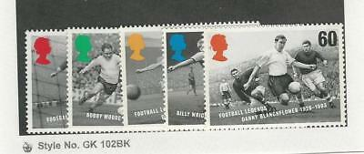 Great Britain, Postage Stamp, #1663-1667 Mint NH, 1996 Football, Soccer