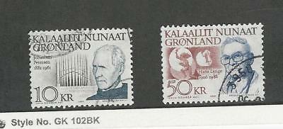 Greenland, Postage Stamp, #242-243 Used, 1991