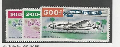 Guinea, Postage Stamp, #C14-C16 Mint LH, 1959 Airplanes