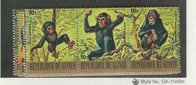 Guinea, Postage Stamp, #C137-C142 Used, 1977 Animals