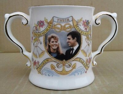 Ashleydale Loving Cup - Andrew & Sarah - To Commemorate Their Marriage 1986.
