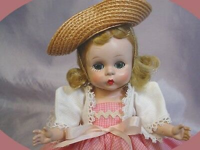 Madame Alexander-kins Strung 1953 Blonde Doll Country Picnic BEAUTY