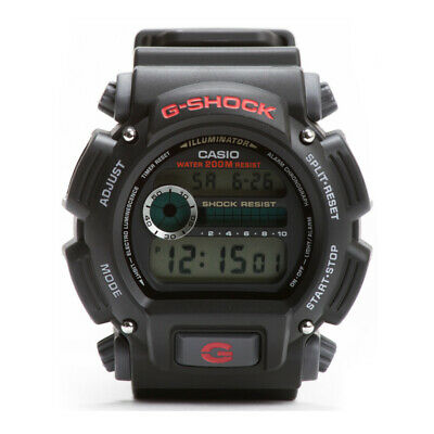 Casio Men's DW9052-1V G-Shock Black Stainless Steel and Resin Digital Watch