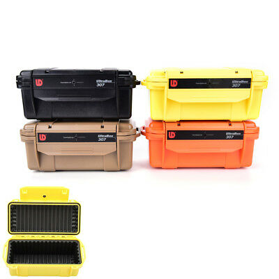 Shockproof Trunk Waterproof Box Airtight Seal Case Outdoor Survive Container JR