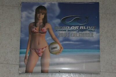 Dead or Alive Xtreme Beach Volleyball 2003 Calendar Prima Games Tecmo Sealed