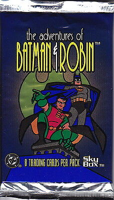 THE ADVENTURES OF BATMAN & ROBIN - Trading Card Packs (20) by Skybox #NEW