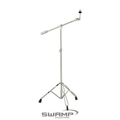 Light Weight Cymbal Stand with Boom - Double Braced