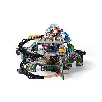 Hape Mighty Mountain Mine Train Set with Train - NKT