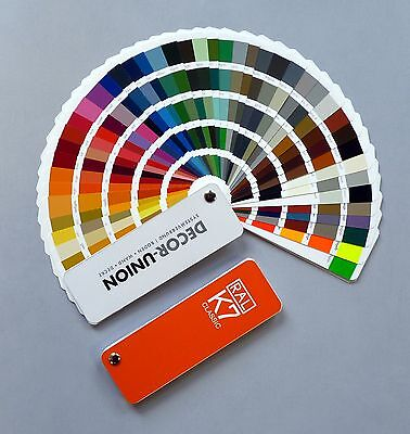 Ral Color Cards Swatches K7 Classic 213 Colour Tones New! Newest Version 2017