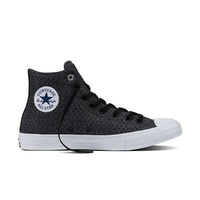 Converse Chuck Taylor All Star Ii High Spacer Mesh In Thunder- White