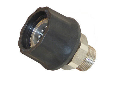 High Pressure Quick Coupling Rapid Snap M22 AG Socket for Kärcher etc