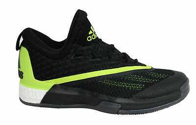 purchase cheap 3e31e bf3f1 Adidas Crazylight Boost 2.5 Lace Up Black Mens Basketball Trainers AQ7586  U39
