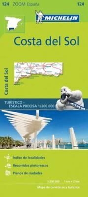 Costa del Sol Zoom Map 124 by Michelin Editions des Voyages (Sheet map,...