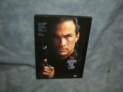 Above the Law (DVD, 1998)  Starring Steven Seagal   [EUC]