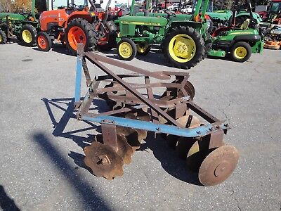 3 Point Hitch 16  Disc  Disc  Harrow