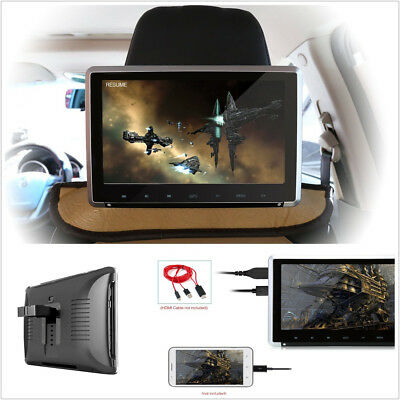"11.6"" Big Screen 1920*1080 Resolution Car Monitor Headrest DVD Player HDMI Port"