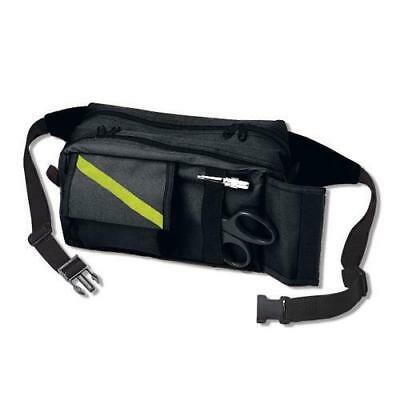 "EMI 825 10""L x 6"" H x 5""W Black EMS Rescue Fanny Pack For 20"" To 54"" Waist"